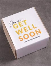 Personalised Get Well Gourmet Box