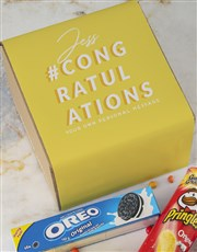 Personalised Congrats Gourmet Box