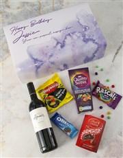 Personalised Gourmet Birthday Giftbox