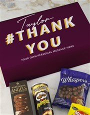 Personalised Thank You Gourmet Giftbox
