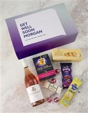Personalised Get Well Gourmet Giftbox