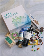 Personalised Thank You Gourmet Gift