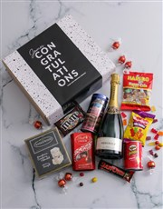 Personalised Congrats Gourmet Gift