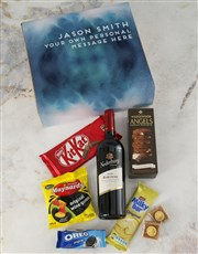 Personalised Message Gourmet Gift