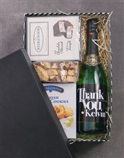 Personalised Thank You Biscotti Hamper