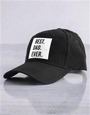 Personalised Black Best Ever Cap
