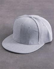 Personalised Grey Best Ever Peak Cap