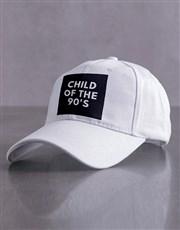 Personalised White Child Of Peak Cap