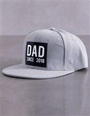 Personalised Grey Since Peak Cap