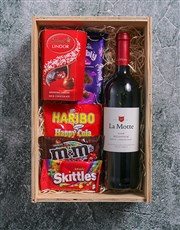 Personalised All I Want For Christmas Man Crate