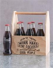 Personalised Good People Printed Beer Crate