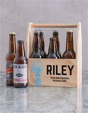 Personalised Karoo Printed Beer Crate