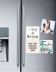 Personalised Gym and Tonic Fridge Magnets