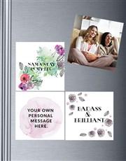 Personalised Namastay Fridge Magnets