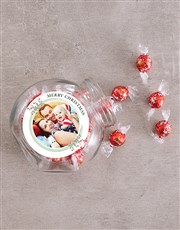 Personalised Photo Merry Christmas Candy Jar