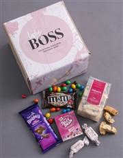 Personalised Lady Boss Gourmet Box