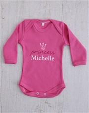 Personalised Princess Crown Clothing Gift Set