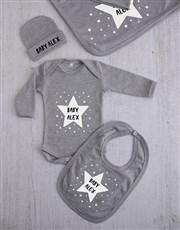 Personalised Stars Clothing Gift Set
