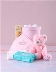 Personalised Crowned Princess Hooded Baby Towel