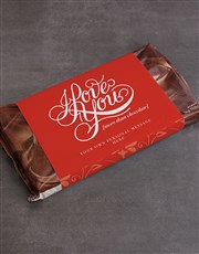 Personalised Love More Than Chocolate
