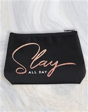 Personalised Slay All Day Cosmetic Bag