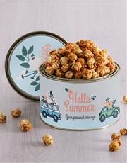 Personalised Summer Popcorn Tin