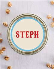 Personalised Life Popcorn Tin