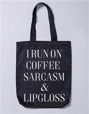 Personalised Run On Tote Bag