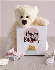Personalised Happy Birthday Box of Nougat