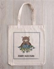 Teddy in Personalised Bear Tote