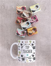 Personalised Top Teacher Mug Set