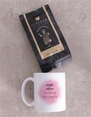 Personalised Empire Pink Mug Set
