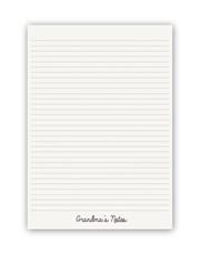 Personalised Grandmother Notebook