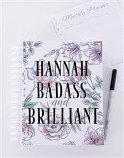 Personalised Badass and Brilliant Journal