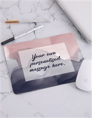 Personalised Watercolour Mouse Pad