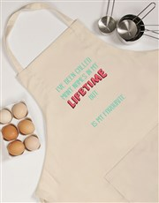 Personalised Favourite Name Apron