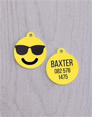 Personalised Cool ID Tag and XS Collar