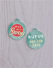 Personalised Swag ID Tag and Collar