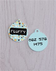 Personalised Sushi  ID Tag and Collar