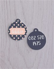 Personalised Rose ID Tag and Collar