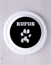 Personalised Paw Frisbee and Bandanna