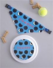 Personalised Oreo Frisbee and Bandanna