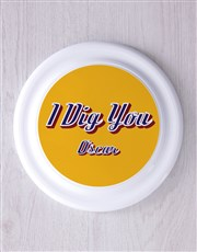 Personalised Dig You Frisbee and Bandanna