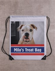 Personalised Stripe Frisbee and Bag