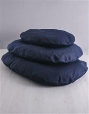 Personalised Sweet Heart Denim Bed