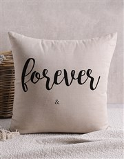 Personalised Forever Scatter Cushion