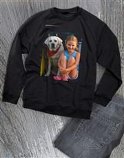 Personalised Photo Ladies Sweater