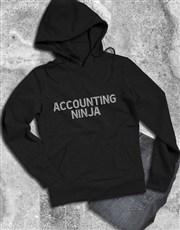 Personalised Ninja Hoodie