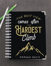 Personalised Hardest Climb Goal Journal