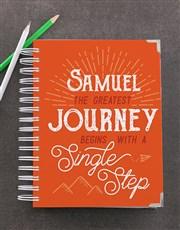 Personalised Single Step Goal Journal